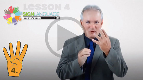 Sign Language 101 Online learn Antonyms and Common Phrases